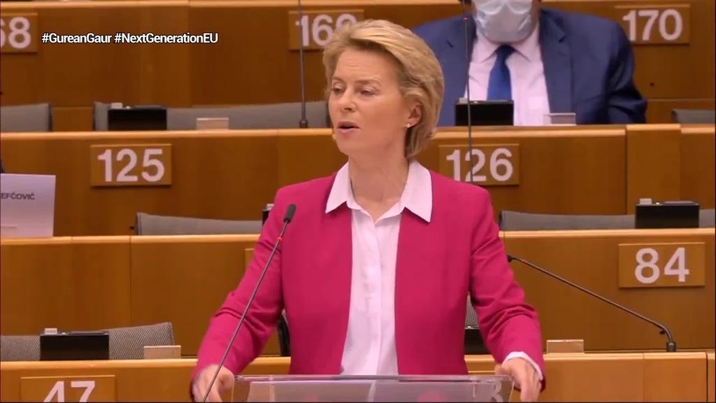Next Generation EU Berreskuratze Funtsa aurkeztu du Bruselak