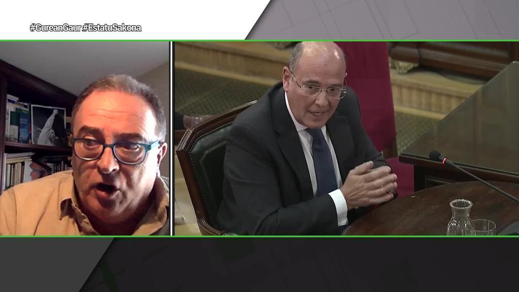"""Karmelo Landa: """"Espainiako Gobernua birusak baino independentismoak kezkatzen du"""""""