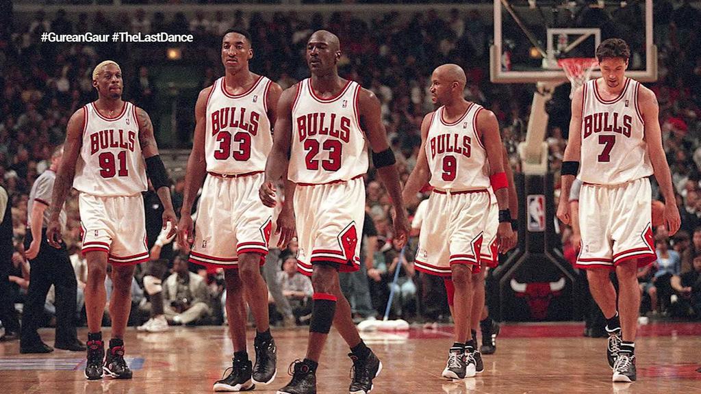 Michael Jordan eta Chicago Bulls mitikoen azken dantza aztertuz