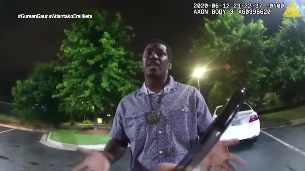 Rayshard Brooks afroamerikarraren hilketa giza erailketa izan zela ondorioztatu da