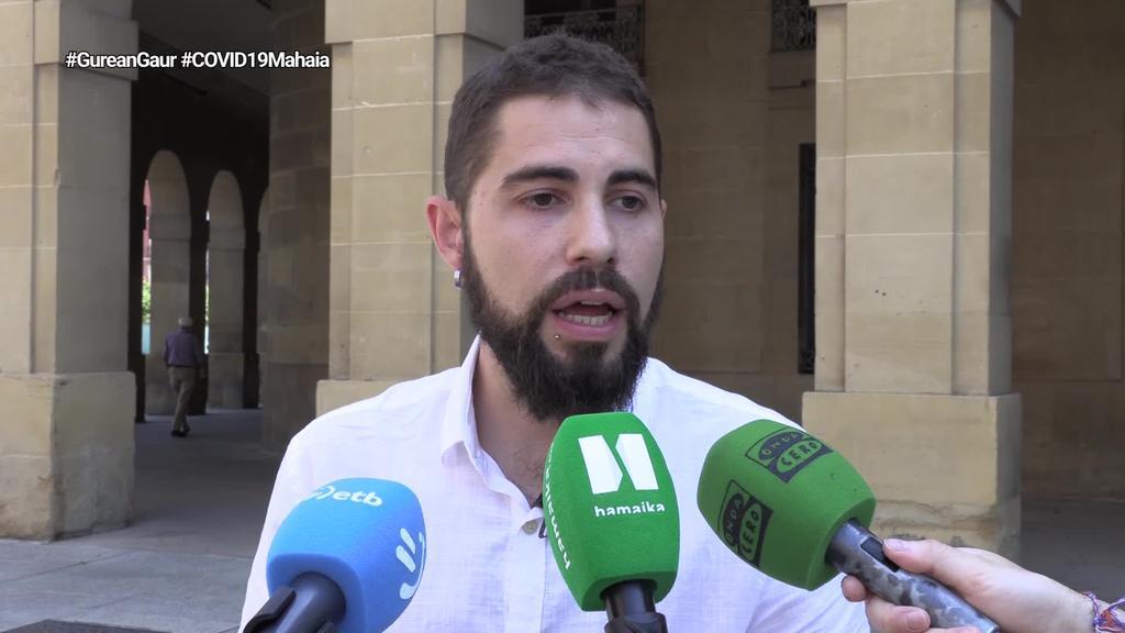 LABek COVID19aren krisi mahaian parte hartzeari utziko dio Nafarroako Gobernuak enplegua