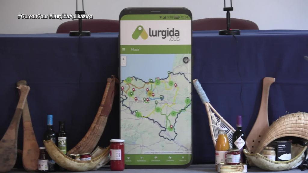 Euskal Herriko LURGIDA app turistikoa sortu du Udalbiltzak