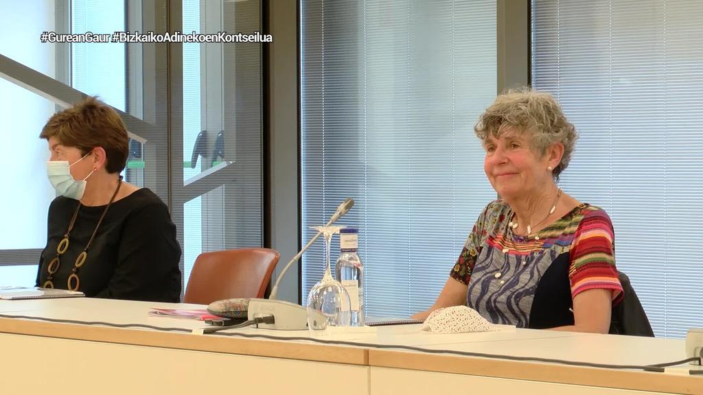 Bizkaiko Adinekoen Kontseiluak biltzar orokorra egin du Euskalduna Jauregian