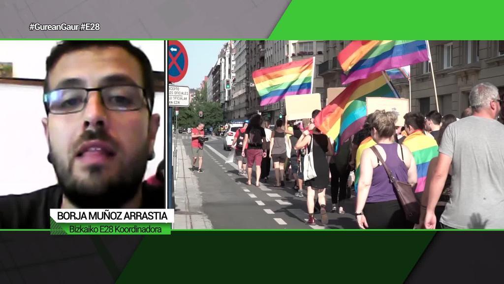 Borja Muñoz Arrastia (Bizkaiko E28 koordinadora):