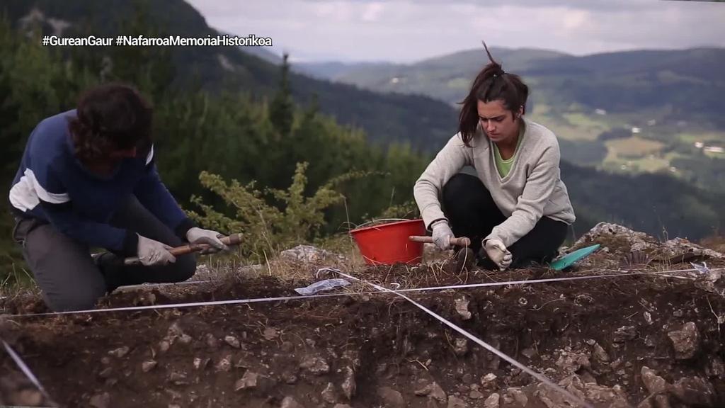 Larrasoañako indusketa batean aurkitutako gorpuak Leoncio de la Fuente Ramosen gorpuzkiak direla baieztatu dute ADN bidez