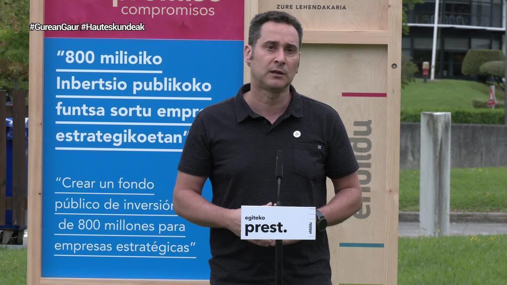 Deslokalizazioak ekiditeko lege bat proposatu du EH Bilduk