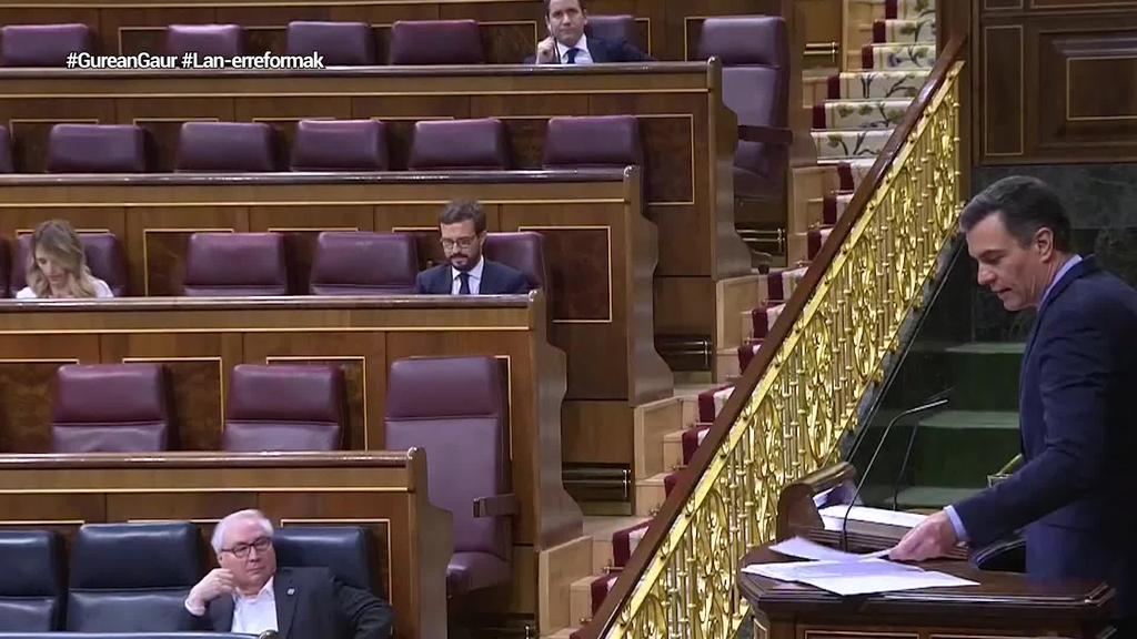 PSOEK bozketa errepikarazi du lan-erreforma indargabetzeari uko egiteko