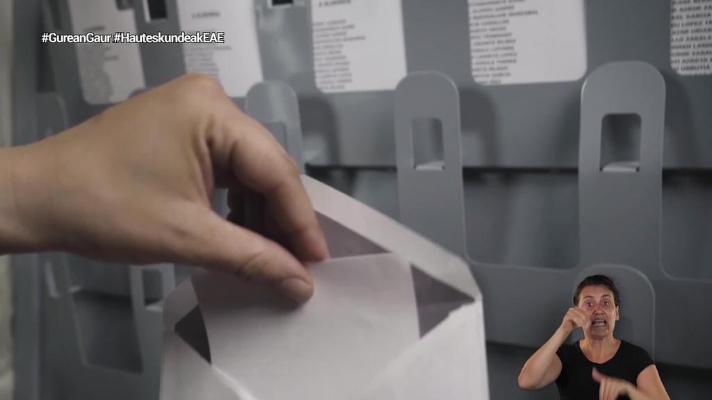 125.000 pertsona baino gehiagok egin dute uztailaren 12ko hauteskundeetan botoa posta bidez emateko eskaera