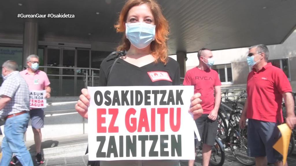 Osakidetzak langileak arriskuan jarri dituela ebatzi du EAEko Justizia Auzitegi Nagusiak