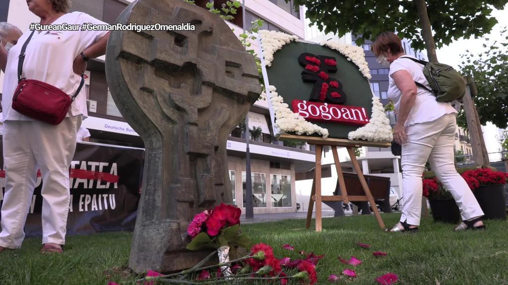 German Rodriguezi omenaldia egin diote haren erailketaren 42. urteurrenean