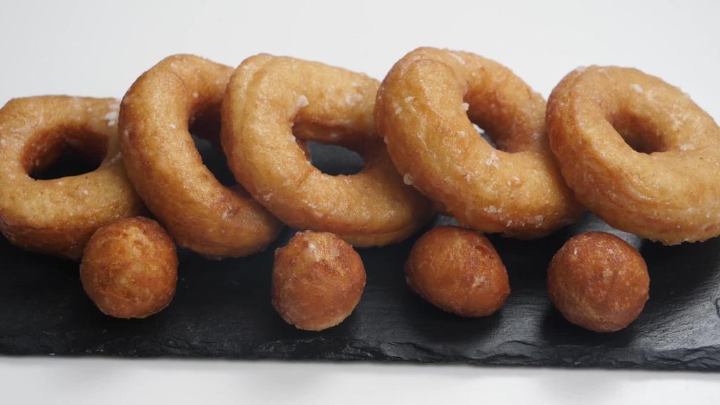 Errezeta beganoa I Donuts-ak
