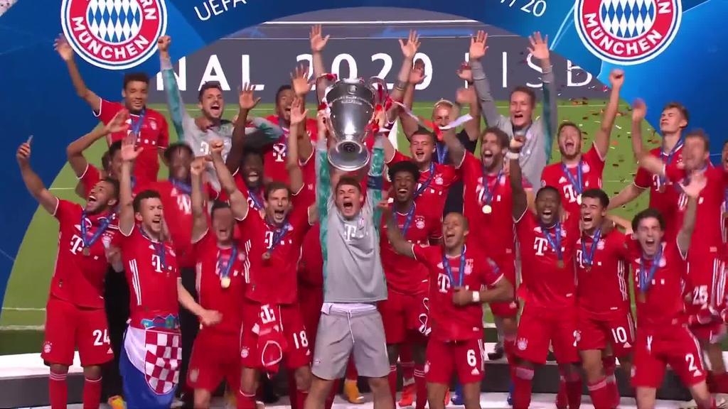 Bayern-ek seigarrenez eskuratu du Txapeldunen Liga