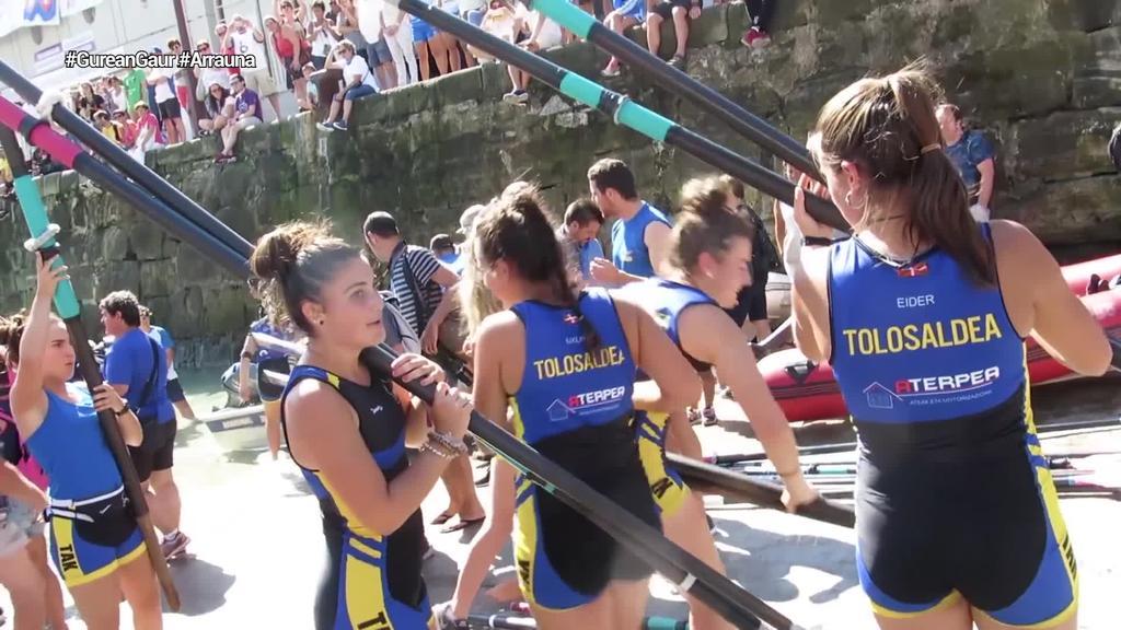 Hibaika eta Tolosaldeak jokatuko dituzte Euskotren Ligara igotzeko playoffak
