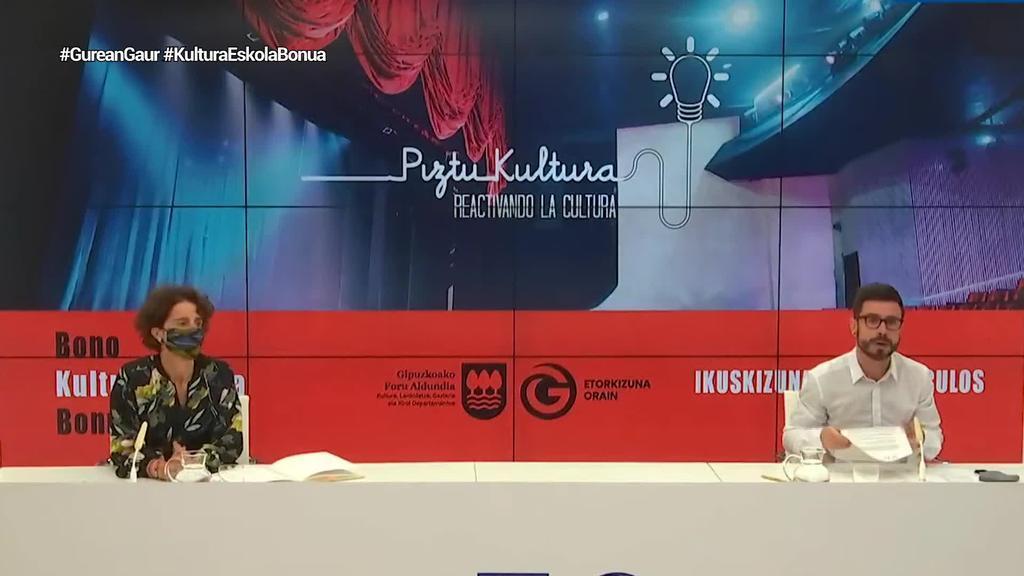 Gipuzkoako Foru Aldundiak 'Kultura Eskola Bonua' jarri du martxan gazteek arte eszenikoak eta museoa bisita ditzaten