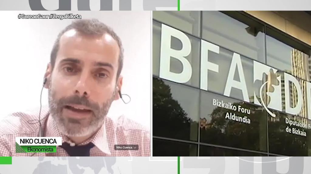 """Niko Cuenca (Ekonomista): """"Eztabaida ondokoa da: zerga sistema justuagoa nahi dugu ala ez?"""