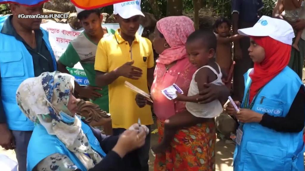 UNICEFek Konponbide Txikiak kanpaina abiarazi du
