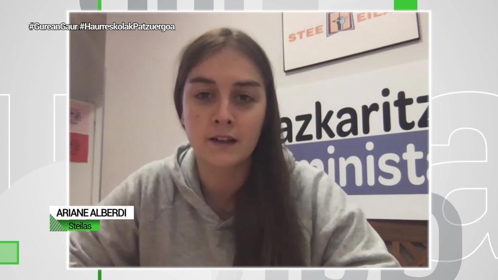 """Ariane Alberdi (Steilas): """"Zalantzan jartzen dugu haurreskola eredu publikoa babesteko erabakiak hartzeko nahirik eta gaitasunik dutenik ere"""""""