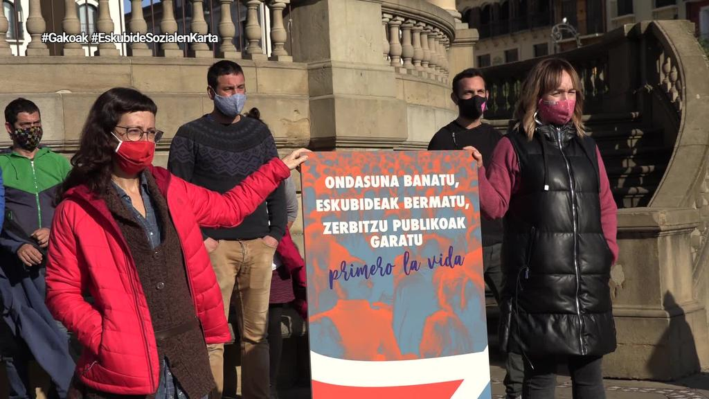 Eskubide Sozialen Kartak mobilizazioak iragarri ditu Nafarroan hilaren 19an eta 28an