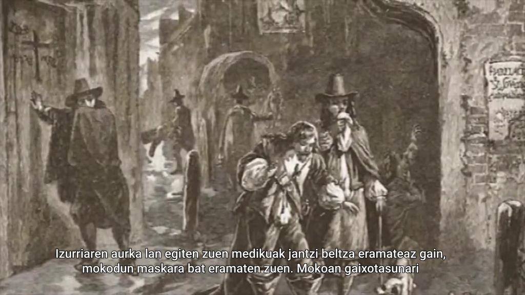 COVID19arekin baino lehenago neurri murriztaileak hartu zituzten XVI.ko izurri beltzaren aurka