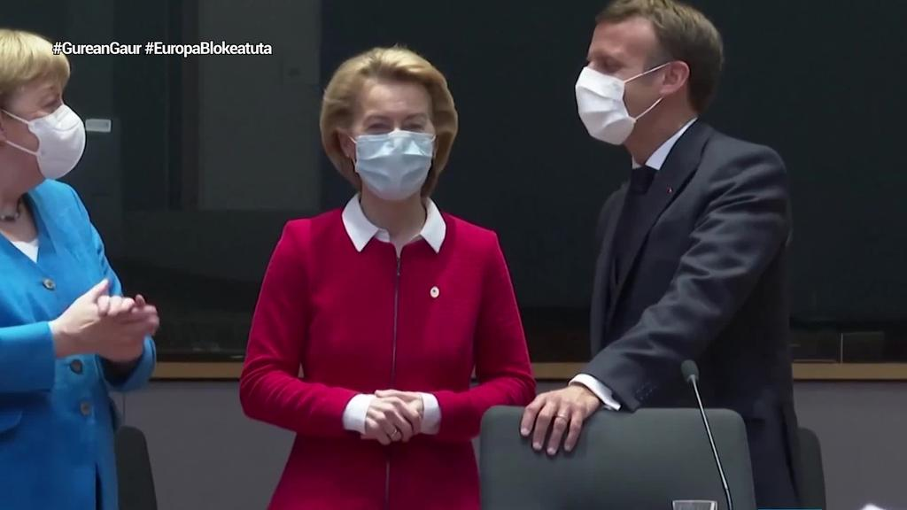 Hungariari eta Poloniari izkin egin nahi die Europar Batasunak