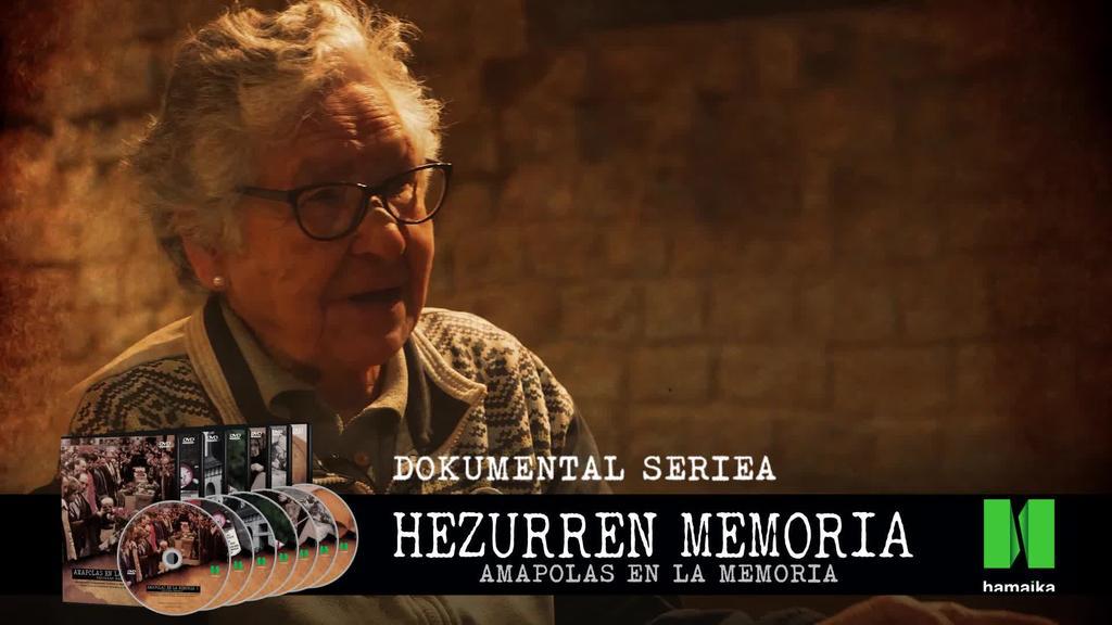 'Hezurren Memoria' telebista seriea, HAMAIKAren eskaintza Durangoko Azokan