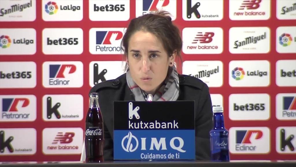 Iraia Iturregi Athletic-eko entrenatzaile izendatu dute