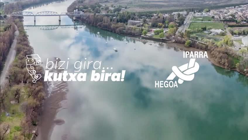 Iparra-Hegoa elkarteak 'Bizi gira...kutxa bira!' ekimena antolatu du