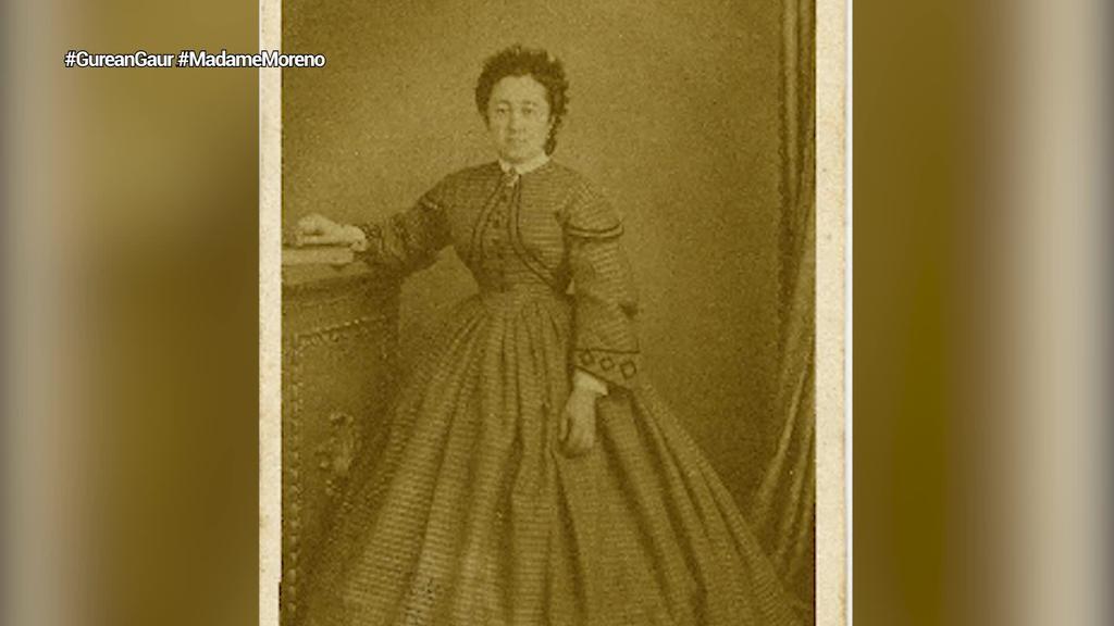 Madame Moreno argazkilaria oroituz