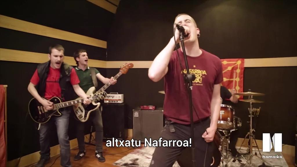 Rotten XIII taldearen 'Noain' abestiaren bideoklipa ikusgai