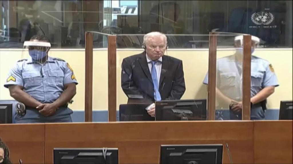 Bizi arteko espetxe zigorra berretsi diote Ratko Mladici