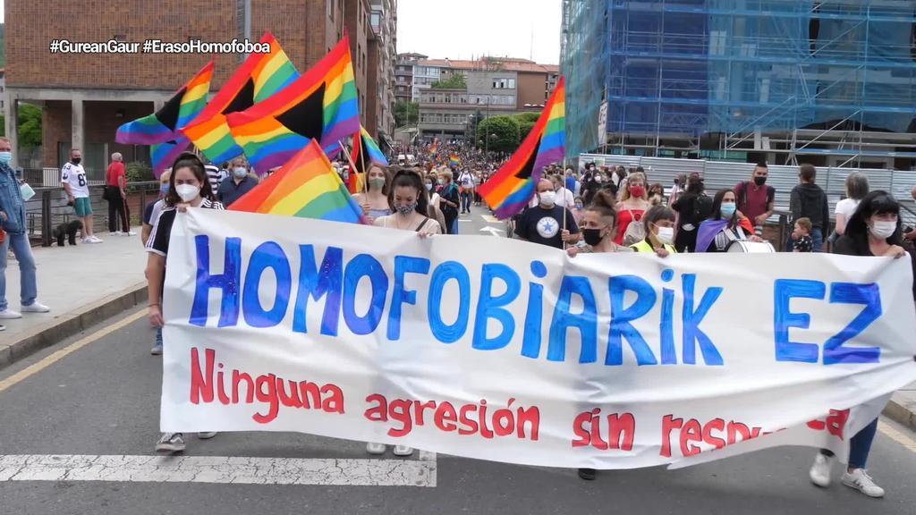 Eraso homofoboa gaitzetsi du Basaurik