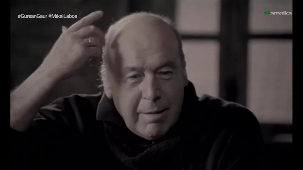 Gaurko egunez duela 87 urte jaio zen Mikel Laboa
