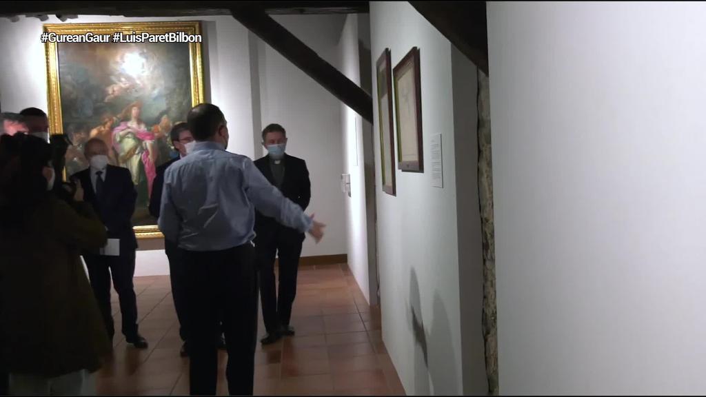 Luis Paret artista madrildarrak Bilbon egindako artelanak bildu dituzte Arte Ederren Museoan