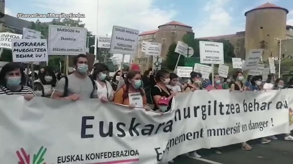 Konstituzio Kontseiluak euskarazko murgiltze eredua onartu du Seaskan