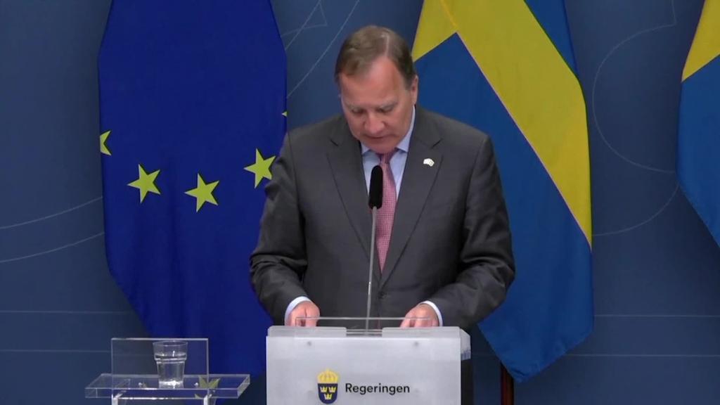Suediako lehen ministroa kargugabetu du parlamentuak