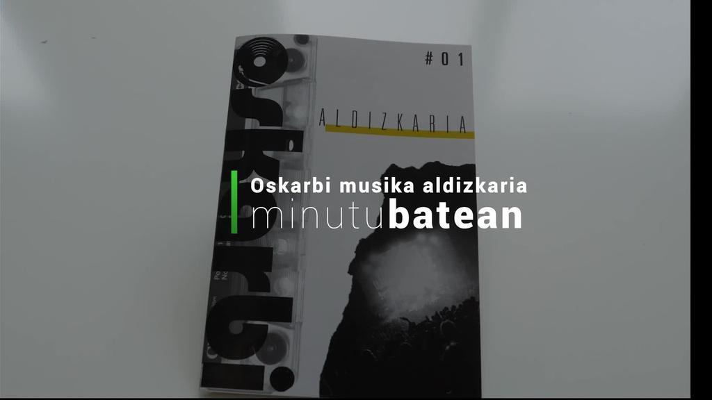 Oskarbi musika aldizkaria jaio da
