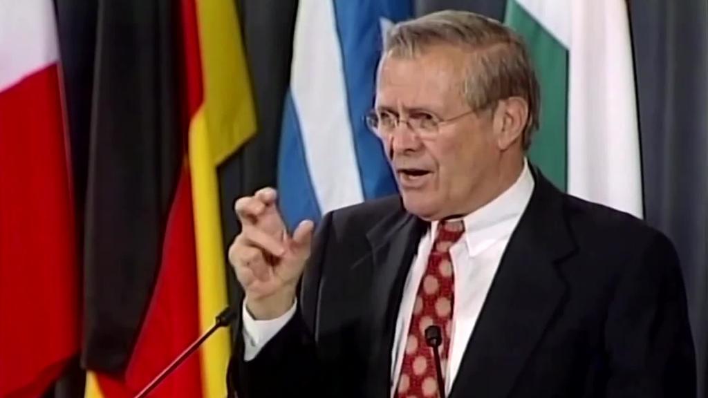Donald Rumsfeld Irak eta Afganistango gerren arduradun nagusietakoa hil da