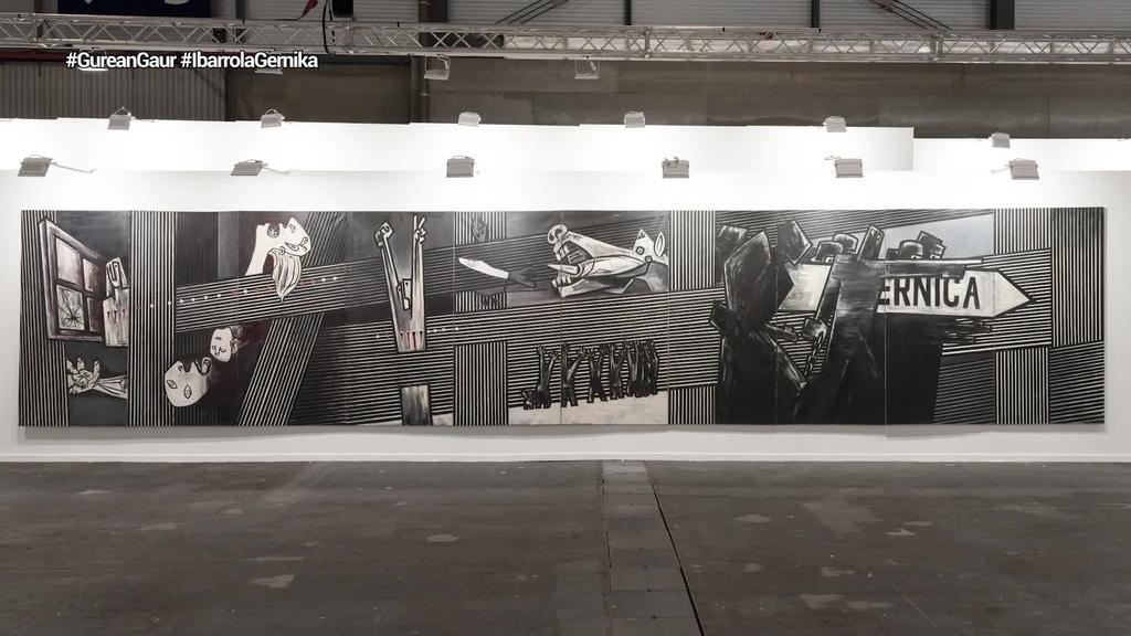 Arte Ederren Museoak eskuratu du Agustin Ibarrolaren 'Guernica Gernikara' obra