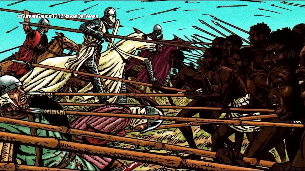 Behartuta parte hartu zuen Nafarroak Navas de Tolosako batailan