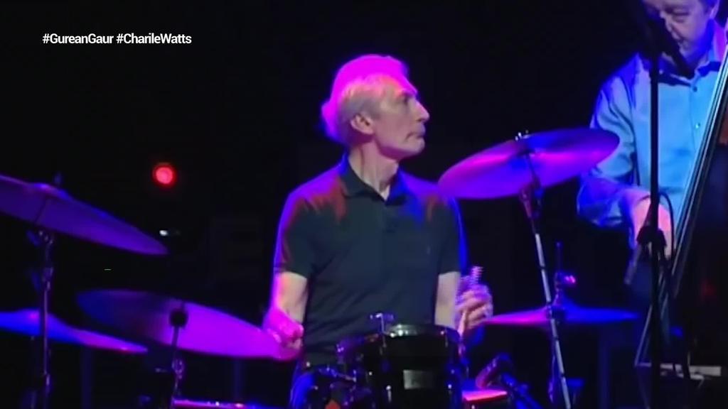 Charlie Watts zendu da, 'The Rolling Stones' taldeko bateria-jotzailea