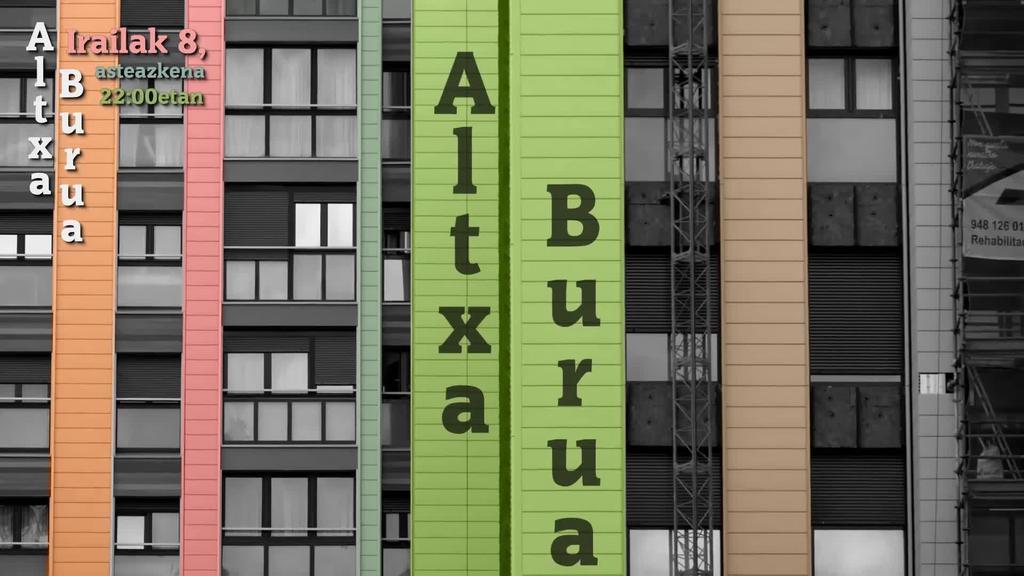 Laister Altxa Burua saioaren estreinaldia Hamaika Telebistan!