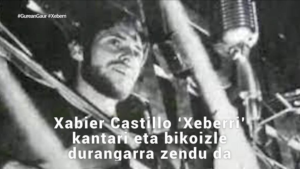Xabier Castillo 'Xeberri' abeslaria hil da