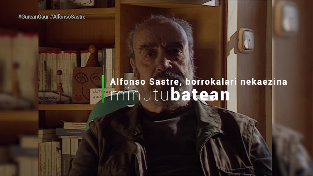 Alfonso Sastre antzerkigile eta idazlea hil da, 95 urte zituela