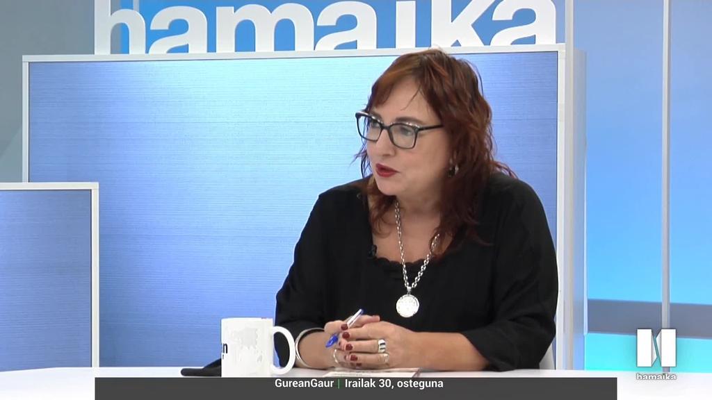 """Miren Agur Meabe: """"Poza eta kulturalki harrotasuna sorrarazi dit saria irabazteak"""""""
