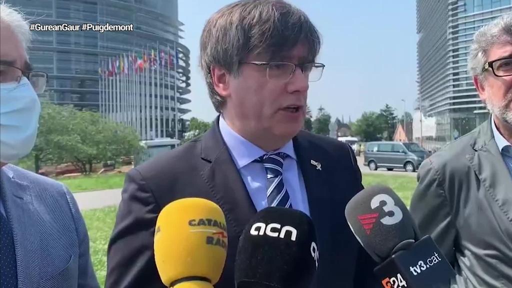 Puigdemonten kontrako euroagindua bertan behera utzi du Italiako justiziak