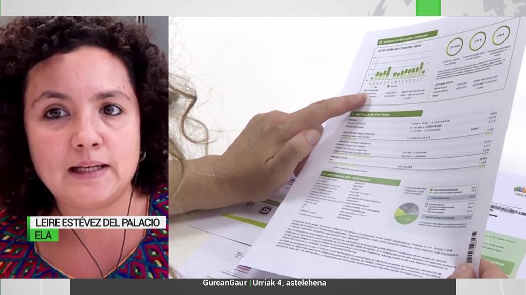 """Leire Estevez del Palacio: """"Argindarraren prezioa jaisteko neurriak ez dira eraginkorrak"""""""