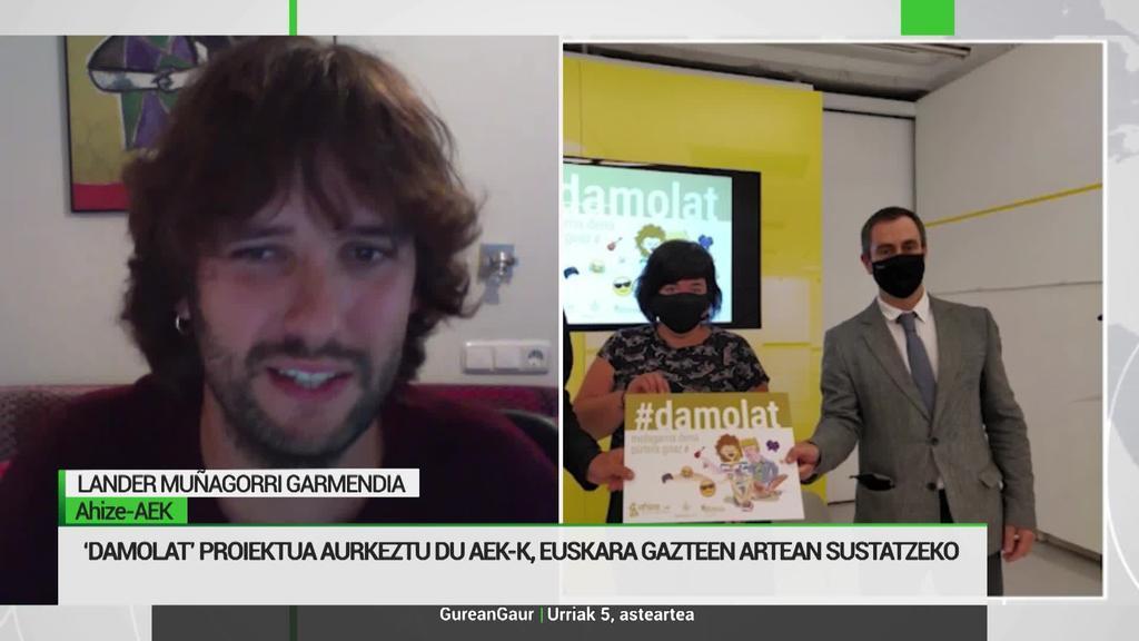 'Damolat', unitate didaktikoen bitartez gazteen artean euskara sustatzeko proiektua