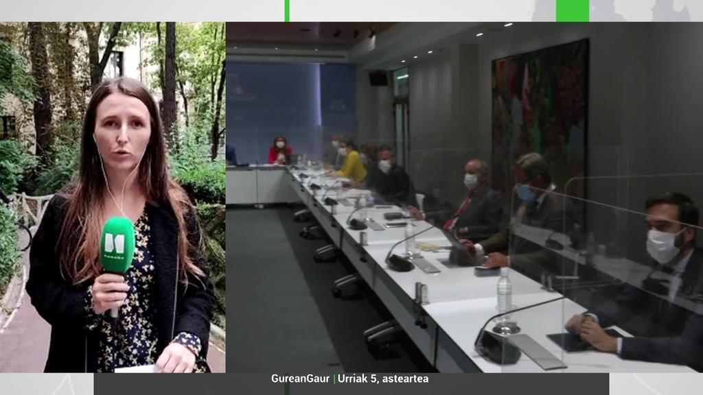 Udane Arbeo: 'Osasun larrialdiari amaiera ematea aurreikusi daiteke gaurko LABIrako'