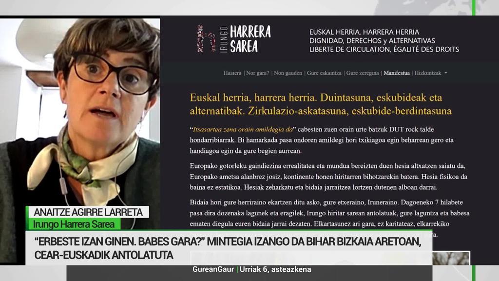 Anaitze Agirre: 'Bidasoa aldeko migratzaileen egoera eman nahi dugu ezagutzera'