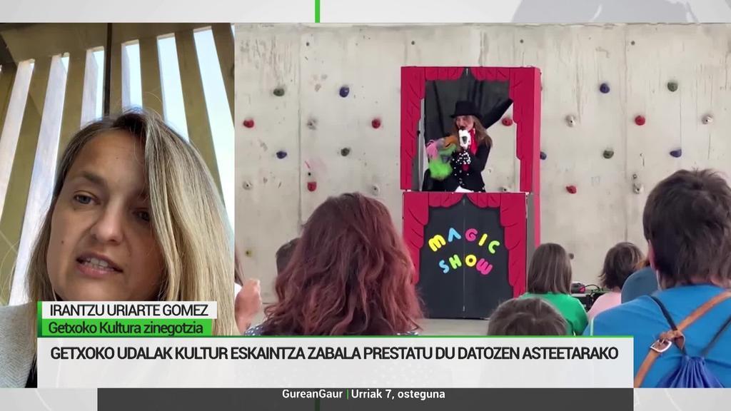 Irantzu Uriarte: 'Getxoko Arte Eszenikoen Jardunaldian disziplina anitz eskainiko ditugu'